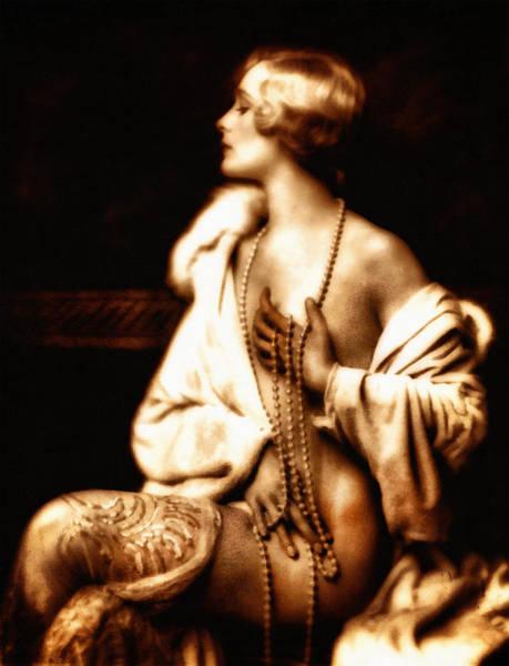 Grunge Goddess Poster