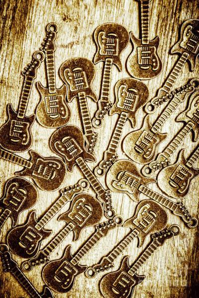 Guitar Echo Chamber Poster