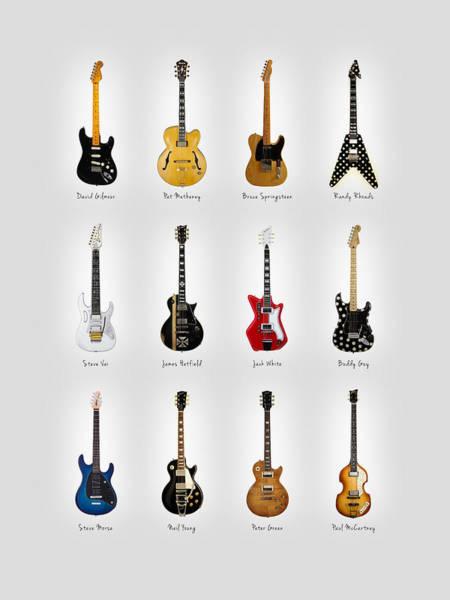 Guitar Icons No2 Poster