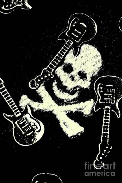 Guitars Of Black Metal Poster