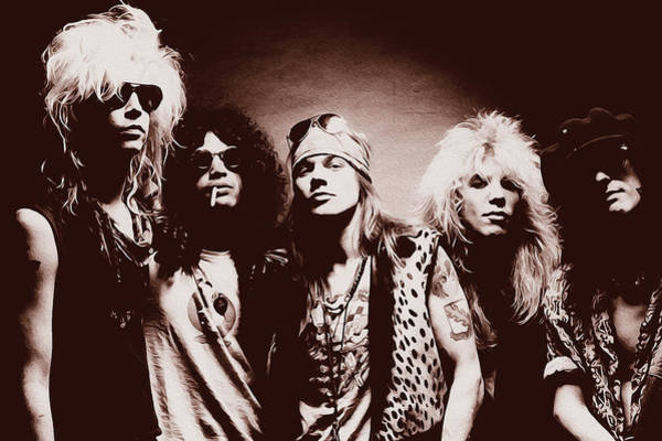 Guns N' Roses - Band Portrait 02 Poster