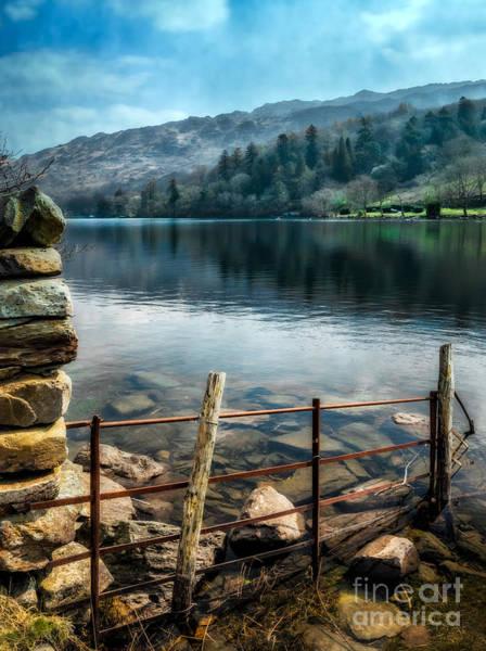 Gwynant Lake Poster