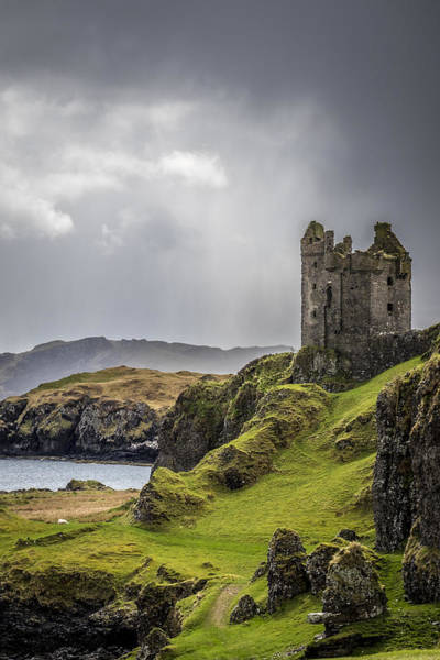 Gylen Castle On Kerrera In Scotland Poster