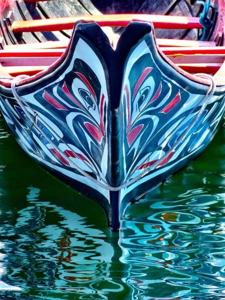 Haida Canoe Poster