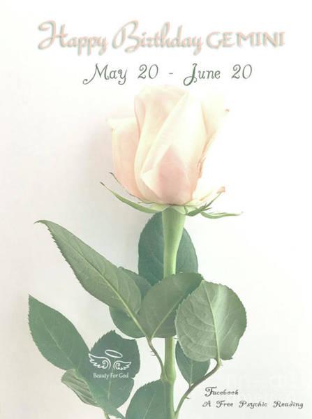 Happy Birthday Gemini Poster