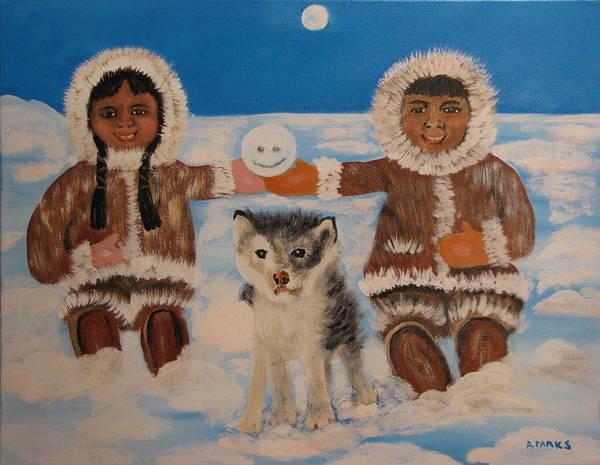 Happy Eskimo's Poster