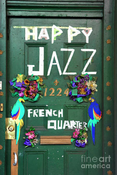 Happy Jazz French Quarter New Orleans Poster