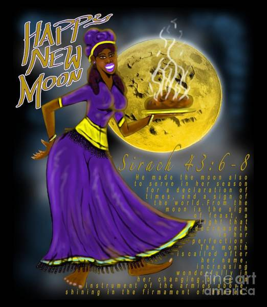 Happy New Moon Sirach 43 Poster