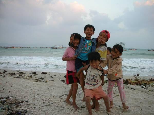 Happy Vietnamese Kids Poster