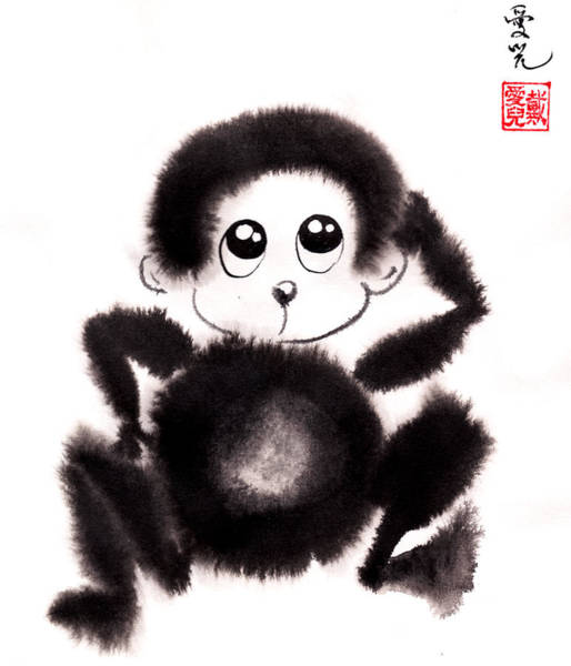 Happy Year Of The Monkey Poster