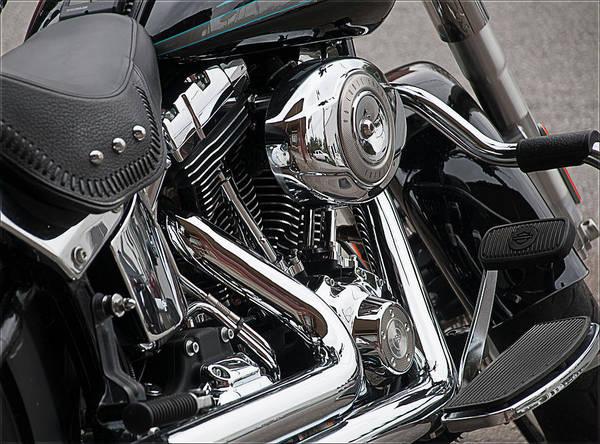 Harley Chrome Poster