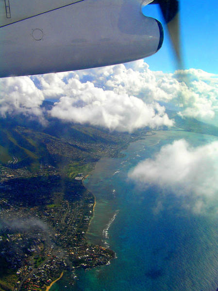 Hawaii Aerial View Poster