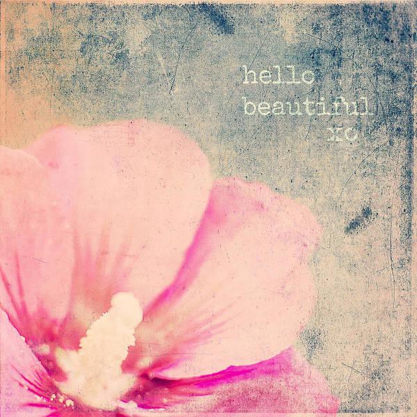 Hello Beautiful Poster