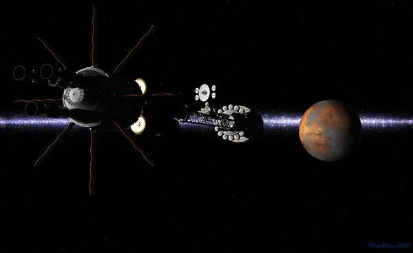 Hermes1 In Sight Of Mars Poster