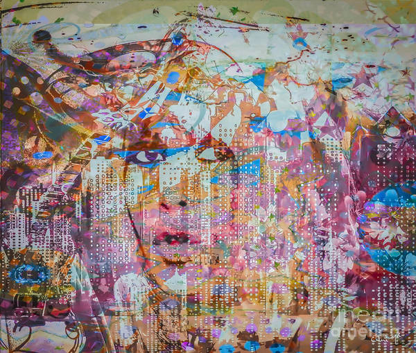 Poster featuring the digital art Hey Good Lookin by Eleni Mac Synodinos
