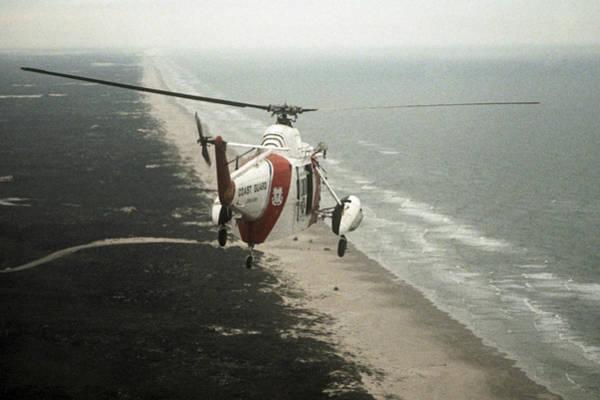 Hh-52a Beach Patrol Poster