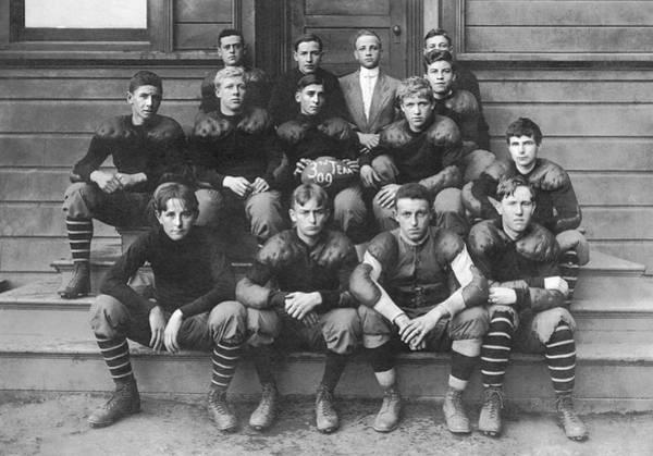High School Football Team Poster