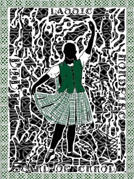 Highland Dancing Poster