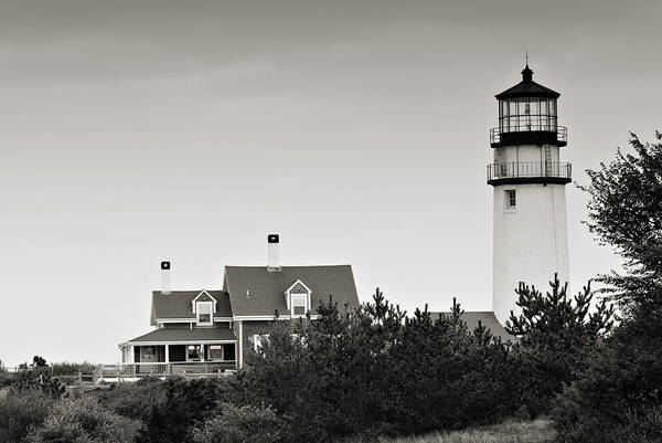 Highland Light At Cape Cod Poster