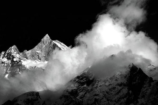 Himalayan Mountain Peak Poster