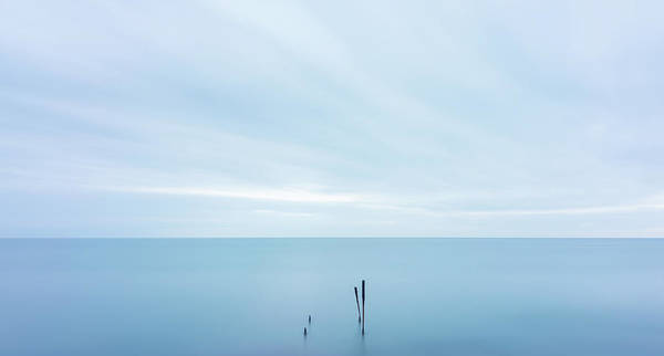 Poster featuring the photograph Horizon by Mirko Chessari