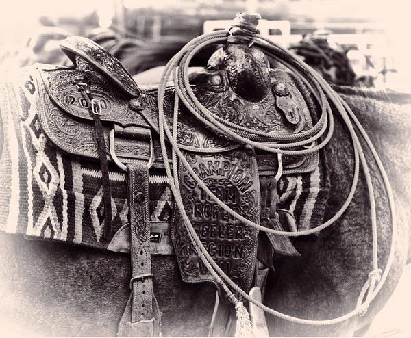 Horse Saddle Poster