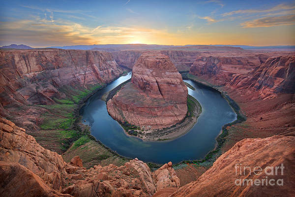 Horseshoe Bend Colorado River Arizona Poster