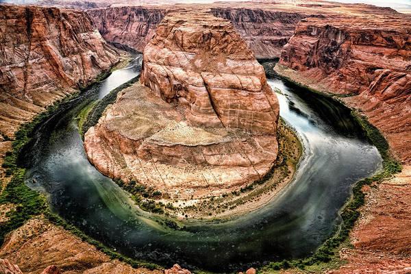 Poster featuring the photograph Horseshoe Bend Colorado River by Gigi Ebert