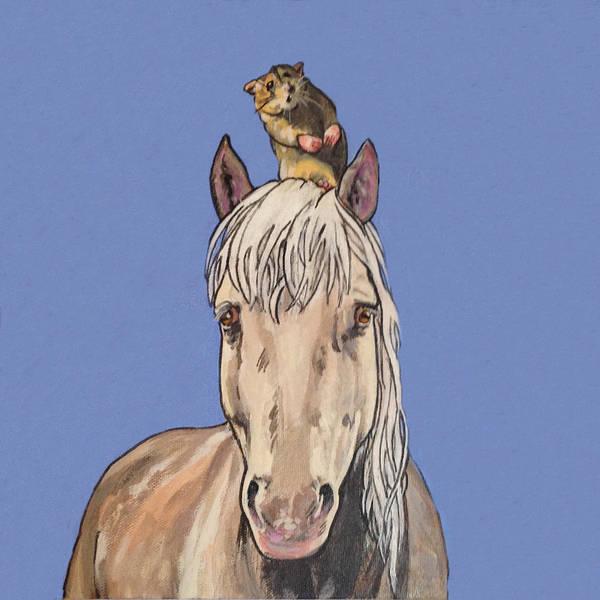 Hortense The Horse Poster