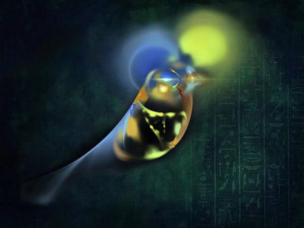 Horus Egyptian God Of The Sky Poster