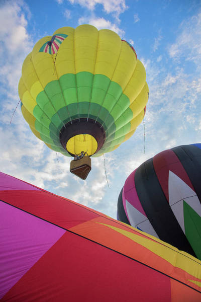 Hot Air Balloon Takeoff Poster
