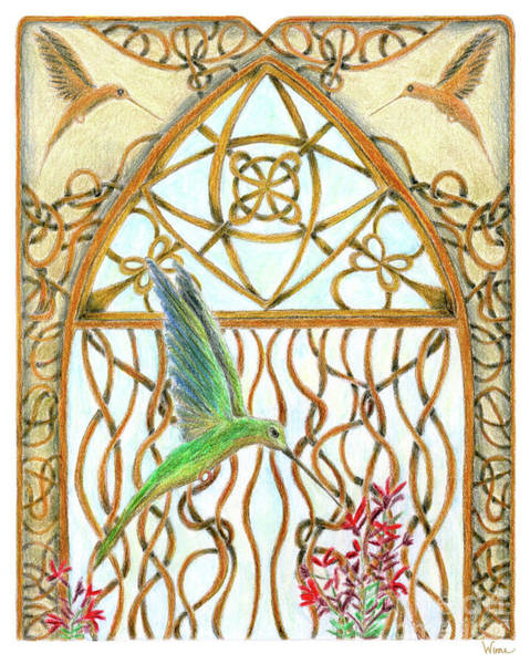 Hummingbird Sanctuary Poster