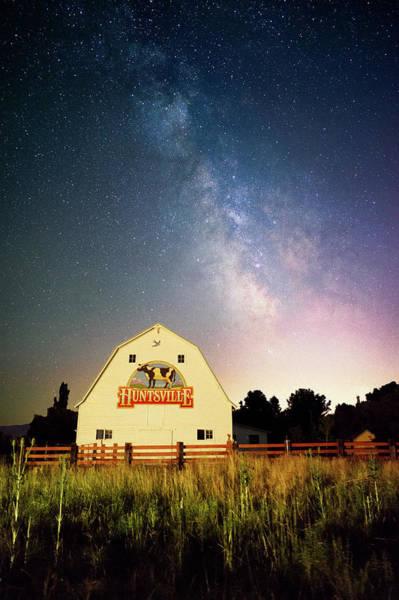 Huntsville Cow Barn Poster