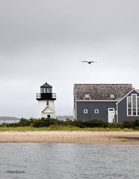 Hyannis Harbor Lighthouse Cape Cod Massachusetts Poster