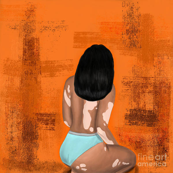 Poster featuring the digital art I Am Enough by Bria Elyce