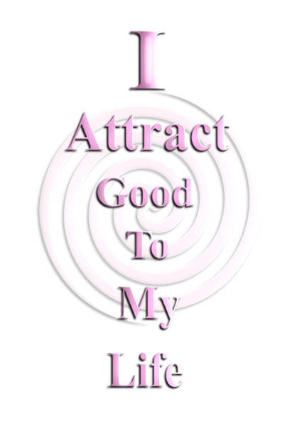I Attract Pink Poster