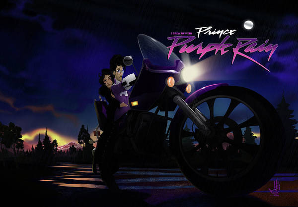 I Grew Up With Purplerain 2 Poster