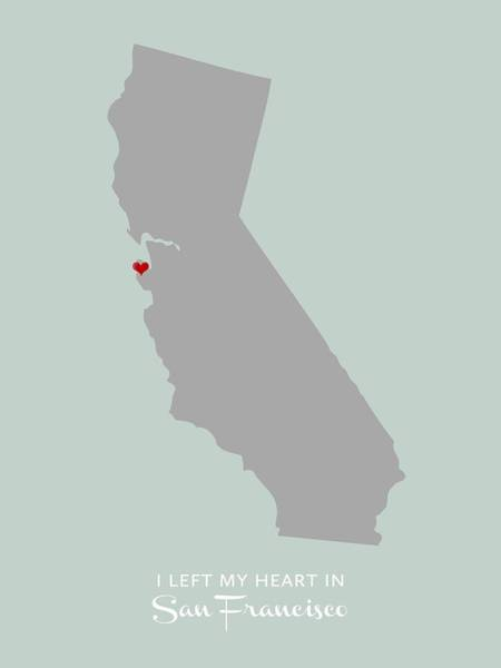 I Left My Heart In Sf Poster