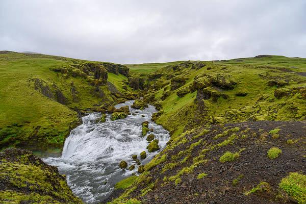 Icelandic Waterfall Poster