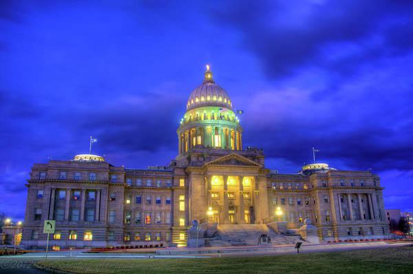 Idaho State Capital Poster