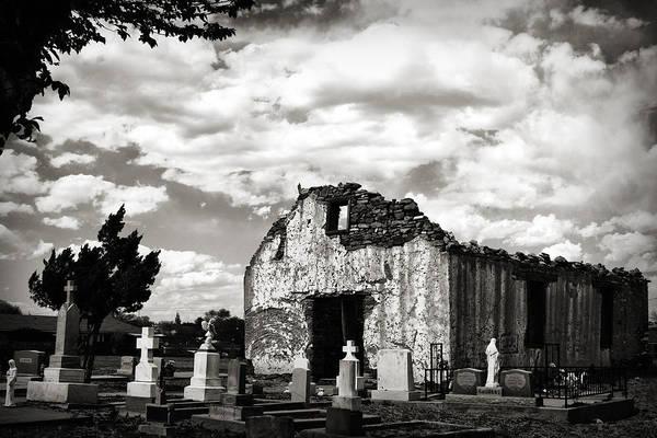 Iglesia Cementerio Poster