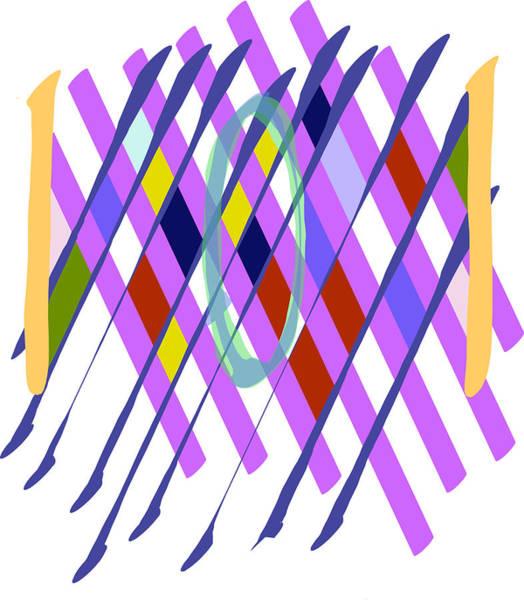 Improvised Geometry #1 Poster