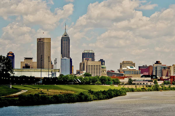 Indianapolis Skyline 25 Poster