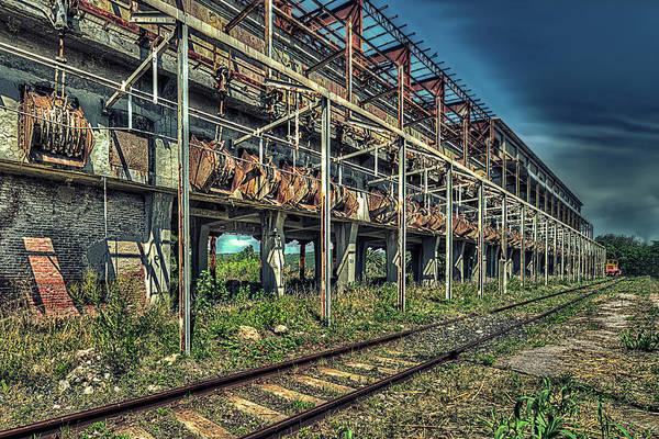 Industrial Archeology Railway Silos - Archeologia Industriale Silos Ferrovia Poster
