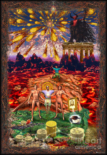 Inferno Of Messages Poster