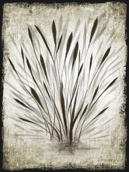 Ink Grass Poster