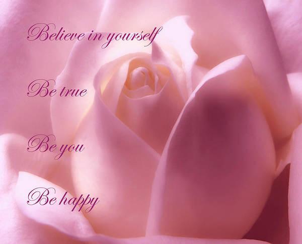 Inspirational Rose Poster