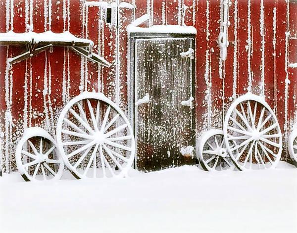 Iowa Blizzard Poster