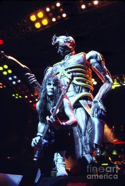 Iron Maiden 1987 Steve Harris And Eddie Poster