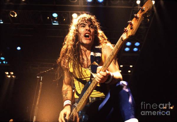 Iron Maiden 1987 Steve Harris Poster